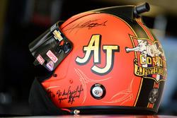 Tony Stewart, Stewart-Haas Racing, helmet