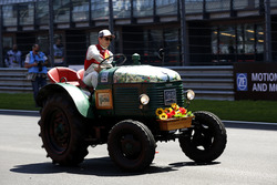 Mike Rockenfeller, Audi Sport Team Phoenix, Audi RS 5 DTM at the Tractor race
