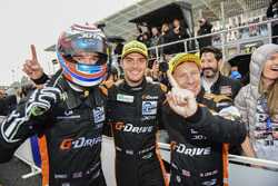 Race winner #38 G-Drive Racing Gibson 015S-Nissan: Simon Dolan, Giedo van der Garde, Harry Tincknell