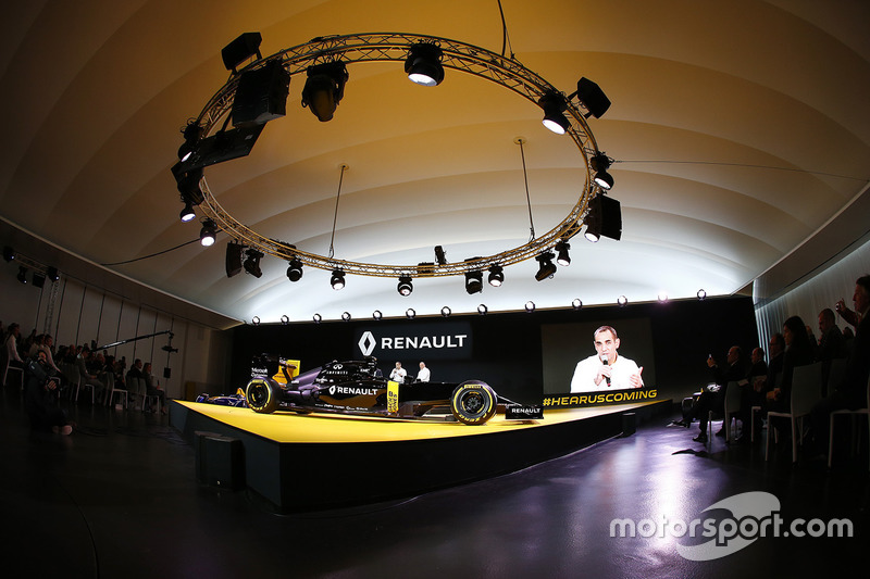 Cyril Abiteboul, Renault Sport F1 Managing Director, Renault Sport Formula One Team RS16 Launch