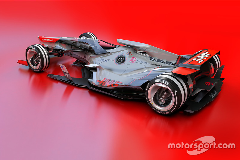 Haas F1 Team 2030 fantasy design