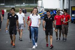 Daniel de Jong, MP Motorsport, Raffaele Marciello, RUSSIAN TIME, Nabil Jeffri, Arden International, Arthur Pic, Rapax and Norman Nato, Racing Engineering