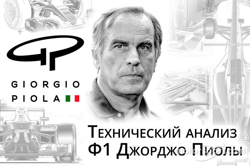 Формула 1 Технический анализ Джорджо Пиолы