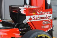 Formula 1 Photos - Ferrari rear wing detail