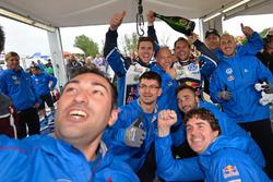 Andreas Mikkelsen, Anders Jäger, Volkswagen Polo WRC, Volkswagen Motorsport with the team