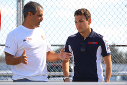 Devlin Defrancesco and Juan Pablo Montoya