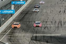 Miguel Molina, Audi Sport Team Abt Sportsline, Audi RS 5 DTM prepares to overtake Jamie Green, Audi Sport Team Rosberg, Audi RS 5 DTM
