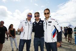 Maxime Martin, BMW Team RMG; Tom Blomqvist, BMW Team RBM; Marco Wittmann, BMW Team RMG