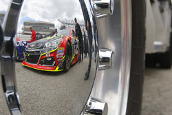 The car of Clint Bowyer, HScott Motorsports Chevrolet