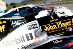 McLaren MP4-16 and Louts F1