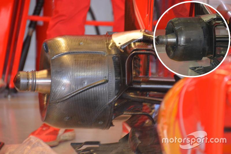 Ferrari SF16-H rear brake drum