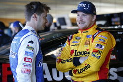 Landon Cassill, Front Row Motorsports Ford, Chris Buescher, Front Row Motorsports Ford