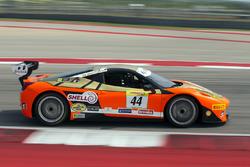 #44 Ferrari of Fort Lauderdale Ferrari 458: Carlos Kauffmann