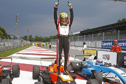 Race 2 winner Dorian Boccolacci, Tech 1 Racing