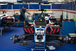 GP3 cars in the Trident garage