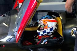 Sylvain Tremblay tests the Mazda RT24-P