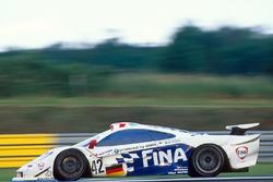 #42 Team BMW Motorsport McLaren F1 GTR BMW: JJ Lehto, Steve Soper, Nelson Piquet