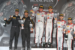 Podium: winner #33 Belgian Audi Club Team WRT Audi R8 LMS GT3: Enzo Ide, Christopher Mies, second place #58 Garage 59 McLaren 650S GT3: Rob Bell, Alvaro Parente, third place #28 Belgian Audi Club Team WRT Audi R8 LMS Ultra: Will Stevens, René Rast