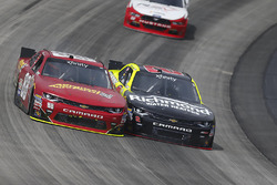 Alex Bowman, JR Motorsports Chevrolet, Paul Menard, Richard Childress Racing Chevrolet