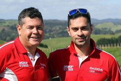 Gaurav Gill and Glenn Macneall, Team MRF
