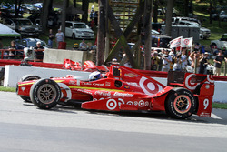Scott Dixon, Chip Ganassi Racing Chevrolet spins during warmup