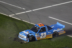 Chrash: Spencer Gallagher, GMS Racing Chevrotel