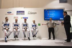 Marino Franchitti, Stefan Mücke, Andy Priaulx, Olivier Pla, Chip Ganassi Racing, Dave Pericak, Director Ford Performance