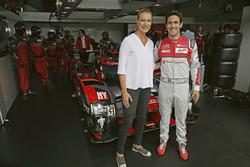 Maria Höfl-Riesch, Lucas di Grassi, Audi Sport Team Joest