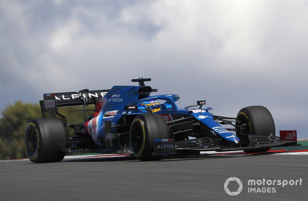 P14 Fernando Alonso, Alpine A521