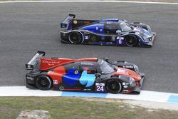 #24 Oak Racing Ligier JSP3 - Nissan: Jacques Nicolet, Pierre Nicolet; #6 360 Racing Ligier JSP3 - Nissan: Terrence Woodward, Ross Kaiser, James Swift