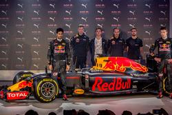 Daniel Ricciardo, Daniil Kvyat, Red Bull Racing