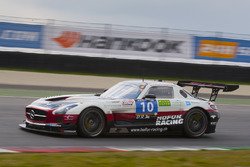 #10 Hofor-Racing Mercedes SLS AMG GT3: Michael Kroll, Christiaan Frankenhout, Kenneth Heyer, Roland Eggimann, Chantal Kroll