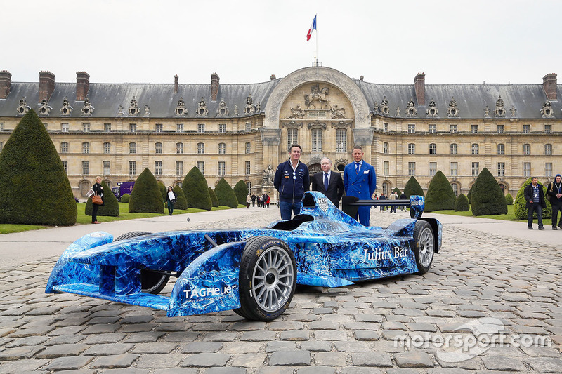 Formula E CEO Alejandro Agag, FIA President Jean Todt