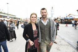 Martin Tomczyk and wife Christina Surer