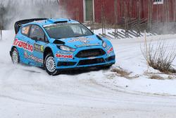Henning Solberg, Ilka Minor, Ford Fiesta WRC