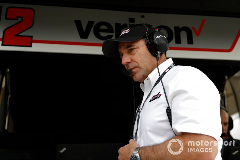 Ron Ruzewski, who has become managing director at Team Penske since Howell's departure.