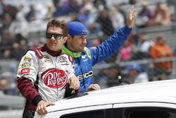 David Ragan, BK Racing Toyota, Casey Mears, Germain Racing Chevrolet