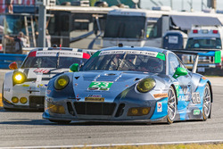 #23 Team Seattle/Alex Job Racing Porsche GT3 R: Ian James, Mario Farnbacher, Alex Riberas, Wolf Henzler