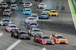 Start, Miguel Molina, Audi Sport Team Abt Sportsline, Audi RS 5 DTM, Jamie Green, Audi Sport Team Rosberg, Audi RS 5 DTM