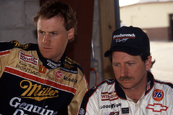 Rusty Wallace and Dale Earnhardt