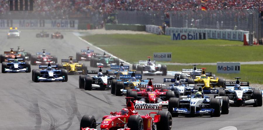 Schumacher savours German win