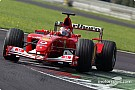 Barrichello happy at the front