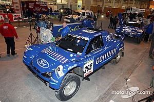 Dakar: Day one scrutineering in Marseille