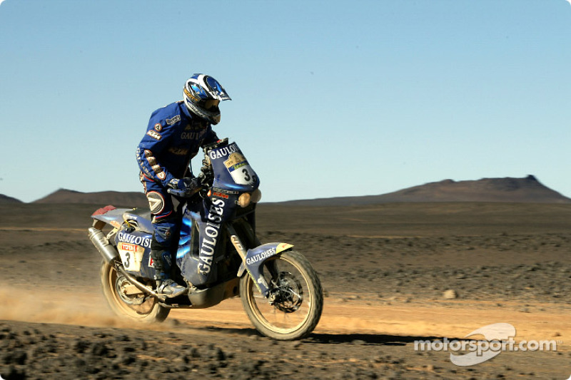 Dakar: Gauloises Racing stage nine report