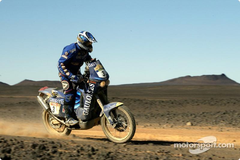 Dakar: Gauloises Racing stage nine report
