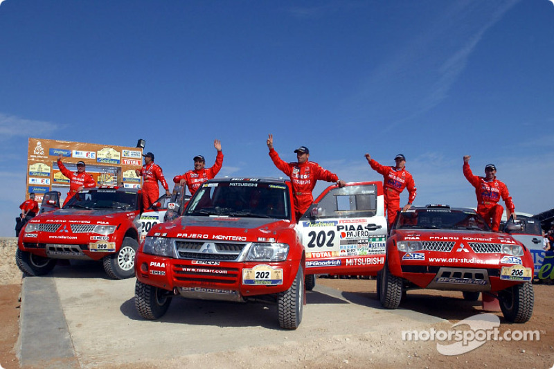 Dakar: Mitsubishi final report