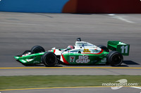 IRL: Brazilian podium with Kanaan on top at Phoenix