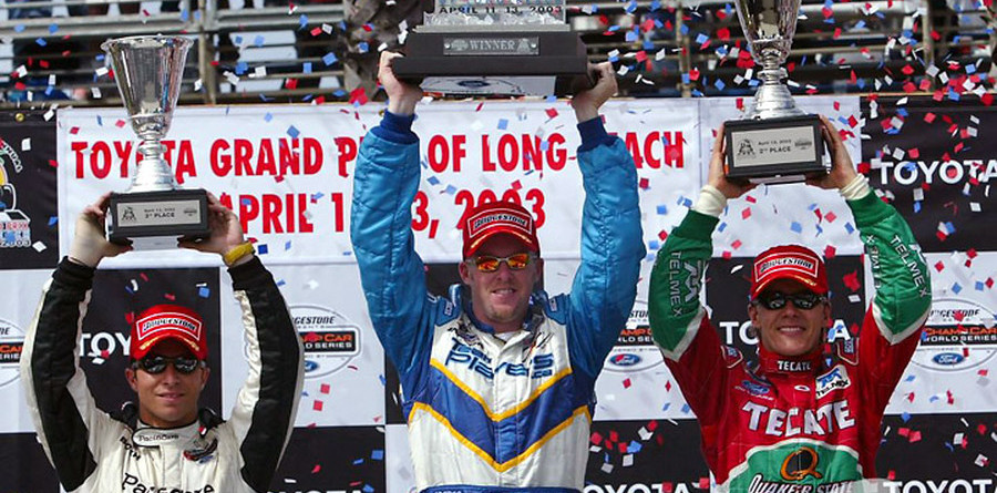 CHAMPCAR/CART: Tracy gets third win after Jourdain's heartbreak