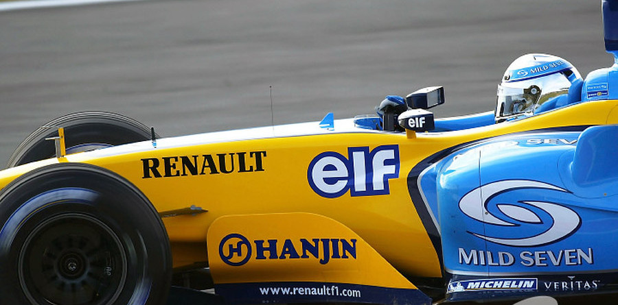 New Renault running well