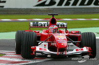 Barrichello ahead on wet Belgian GP Saturday